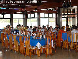 Sea food restaurant in Villa Cayo Naranjo